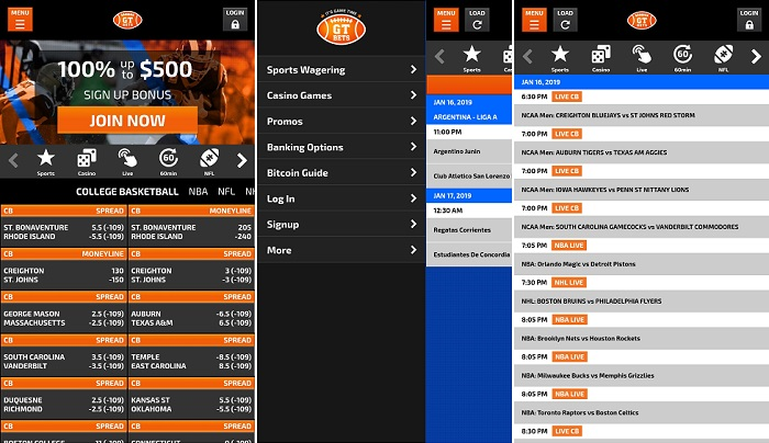GTBets app now for Android