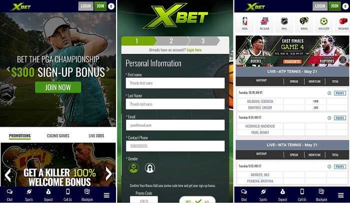 XBet app review