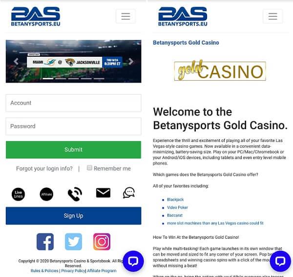 BetAnySport app
